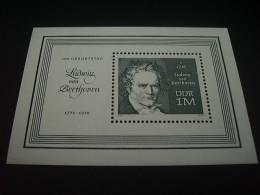 B267-  Bloc MNH Ludwig Von Beethoven 1970 Sc. 1257 - Blocs