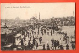 EBH-20  Pont De Karakeui, Constantinople, Istambul. Used In 1906, Stamp Missing - Turquie