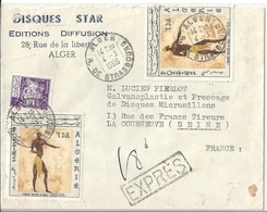 Algérie Lettre Affranchie - Lettres & Documents