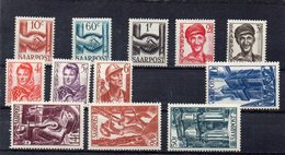 SARRE 1948 * MANQUE 9 F* - 1947-56 Occupation Alliée