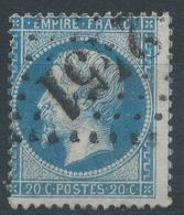 Lot N°45635  Variété/n°22, Oblit GC 2451 Montereau, Seine-et-Marne (73), Ind 2, Piquage - 1862 Napoléon III