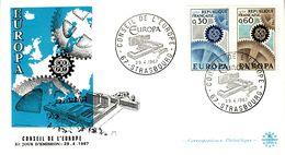FRANCE  1967 EUROPA CEPT   FDC - Europa-CEPT