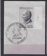 België   O.B.C.  Plaatnummer  2   1712   Durbuy - Plattennummern