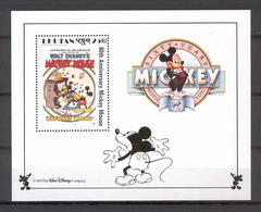 Disney Bhutan 1989 Mickey In The Wayward Canary MS MNH - Disney