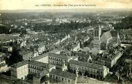 Troyes (10) : Panorama Est Vu De La Cathédrale - Troyes