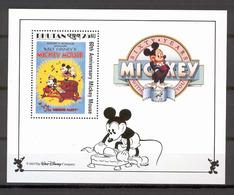 Disney Bhutan 1989 Mickey In The Whoppe Party MS MNH - Disney