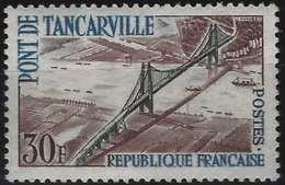 France Pont De Tancarville N° 1215a** Fraicheur Postale TTB Signé Calves - Abarten Und Kuriositäten