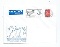 16802 - PORTE - AVIONS  CHARLES DE GAULLE - MISSION HALIFAX 2005 - Poststempel (Briefe)