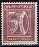 GERMANY # FROM 1922 STAMPWORLD 181* - Deutschland