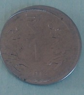 India..2013 Error Hyderabad Mint.. Circulated Coin - Indien