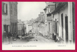 CPA Saint-Valéry Sur Somme - Rue Des Moulins - Saint Valery Sur Somme