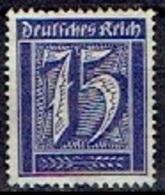 GERMANY # FROM 1922 STAMPWORLD 183(*) - Deutschland