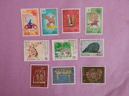 COREE DU NORD ANNEES 1977/1978 OBLITERES - Korea (Nord-)