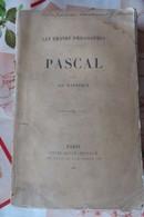 AD HATZFELD PASCAL 1901 - Livres, BD, Revues