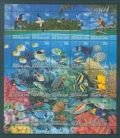 COCOS - MNH/*** LUXE  - 2006 - TURTLE FISH BIRDS FAUNA MINISHEEET - Yv 405-424 - Lot 18692 - Cocos (Keeling) Islands