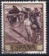 España-Spain. Joaquin Sorolla (o) - Ed 1574, Yv=1223, Sc=1226 - 1961-70 Usados