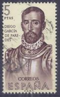 España-Spain. Diego Garcia De Paredes (o) - Ed 1533, Yv=1533, Sc=1195, Mi=1425 - 1961-70 Usados