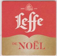 SOUS  BOCK :  Noël  Leffe - Beer Mats