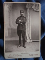Photo Cabinet Marcel St Supéry à Valence - Militaire Officier Lieutenant 6e D'artillerie Vareuse Galon En Pointe L409 - Anciennes (Av. 1900)