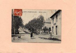 F1612 -  ST ANDRE LE GAZ - D38 - Rue De La Gare - Saint-André-le-Gaz