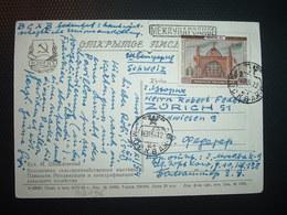 CP Pour La SUISSE TP 40 K OBL.16 11 54 - 1923-1991 URSS
