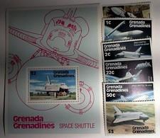 GRENADA GRENADINES  1978.- Souvenir Sheet+stamps - Space