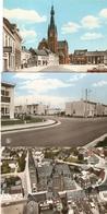 Hamont : Luchtopname , Markt , Wijk  --- 3 Kaarten - Hamont-Achel