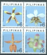 PILIPINAS - 2004 - MNH/** - FLOWERS ORCHYD - Yv 2936-2939  - Lot 17187 - Philippines