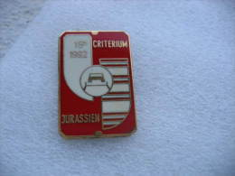 Pin's Rallyes, Courses Automobiles: 15eme Critérium Jurassien En 1992 - Rallye
