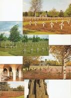 Lommel : Deutscher Soldatenfriedhof , Militair Kerkhof,...--- 7 Kaarten - Lommel