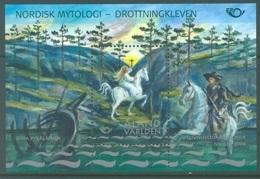 ALAND - MNH/*** LUXE - 2008 - NORDIC MYTHOLOGIE - Yv BLOC 6 - Lot 17306 - Aland