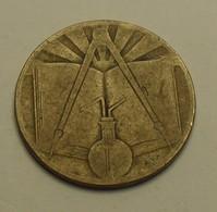 1971 - Algérie - Algeria - 1391 - 50 CENTIMES, Commémorative, Sciences, KM 102 - Algérie