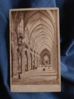 Photo CDV Sans Mention Photographe  Cathédrale Strasbourg  Interieur  CA 1880 - L413 - Anciennes (Av. 1900)