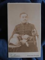 Photo CDV Eugène Marie à Dinan - Militaire Cavalier Du 24e Dragons L412 - Anciennes (Av. 1900)