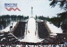 Norway,  Oslo 1982, Holmenkollen, Ski Jump, Used - Norvège