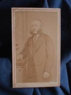 Photo CDV Thiersault à Paris - Homme Aux Favoris Circa 1870 L412 - Anciennes (Av. 1900)