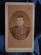 Photo CDV Anonyme - Portrait D'un Militaire Du 120e D'infanterie L412 - Photographs