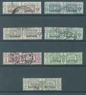 ERITREA - 1917-1937 - USED/OBLIT. - PACCHI POSTALE Sa 9 10 11 15 27 28 30 - Lot 16969 - Erythrée