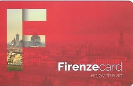 Italy: Firenze Card - Museums Entrence Card - Andere Sammlungen