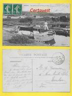 CPA 13 ֎ ROGNAC ֎ ETANG BERRE Canal Barques De Pêcheurs  ֎ 1911 - Other Municipalities
