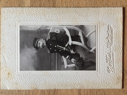 Photo De Soldat Marcel Langlais 22, Rue Tour Carrée Cherbourg - 1914-18