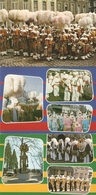 Binche : Carnaval -- Les Gilles ---- 6 Cp - Binche