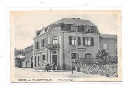 10966 - 57 - GRUSS AUS FOLSCHWEILER : Wirtschaft Mager - France