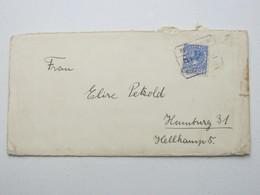 1929 , Perfin , Lochung , S.B. , Briev Naa Duitsland - Periode 1891-1948 (Wilhelmina)