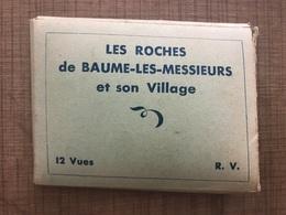 Mini Carnet Les Roches De Baume Les Messieurs Et Son Village - Baume-les-Messieurs