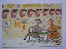 Carte Illustrée  Signée D'Albert DUBOUT - Illustrateurs & Photographes