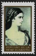 Empress Queen Elisabeth Of Austria Hungary KuK K.u.K Habsburg LABEL CINDERELLA VIGNETTE / MNH 1990's - Autres