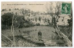 CPA 46 - Environs De ROCAMANDOUR (lot) Batelière De Saint Sauveur N°91 - France