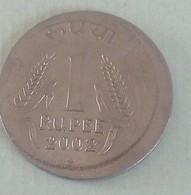 India...error Coin..2002. Bombay Mint - India