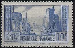 France Port De La Rochelle N°261** Type I Outremer Pale Fraicheur Postale Signé Calves - France